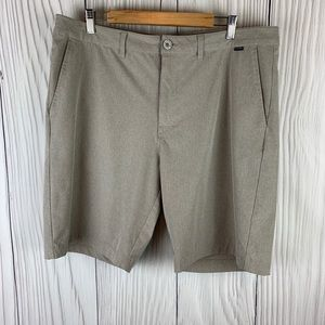 Travis Mathew Tan / Gold Bermuda Men's Shorts 38